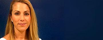 Primer plano de la directora del colegio privado bilingue Patricia Tendero