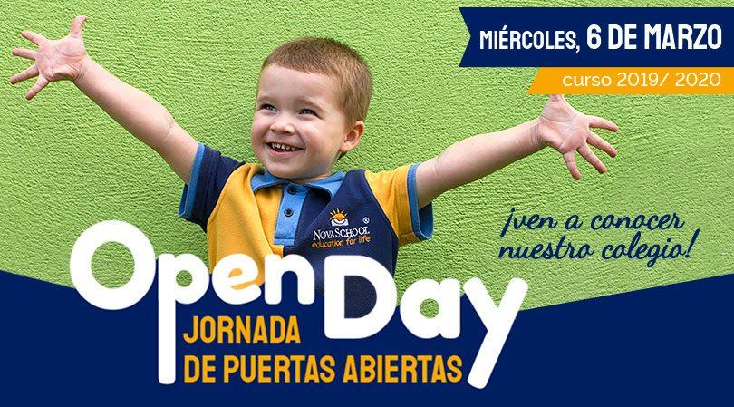 Jornada de puertas abiertas en nuestro colegio privado en Granada Novaschool Medina Elvira