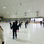 Día de patinaje sobre hielo