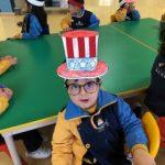 alumnos de infantil en el USA Day