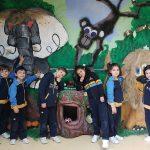 alumnos del colegio bilingüe en granada