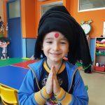 Alumnos de nuestro colegio bilingüe integrándose en la cultura de la India