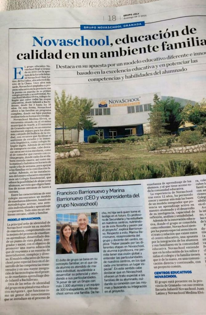 Novaschool en Granada