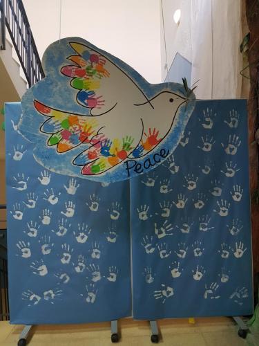 Creamos un mural de la paz