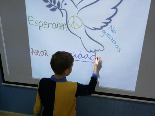 Actividades del día de la Paz